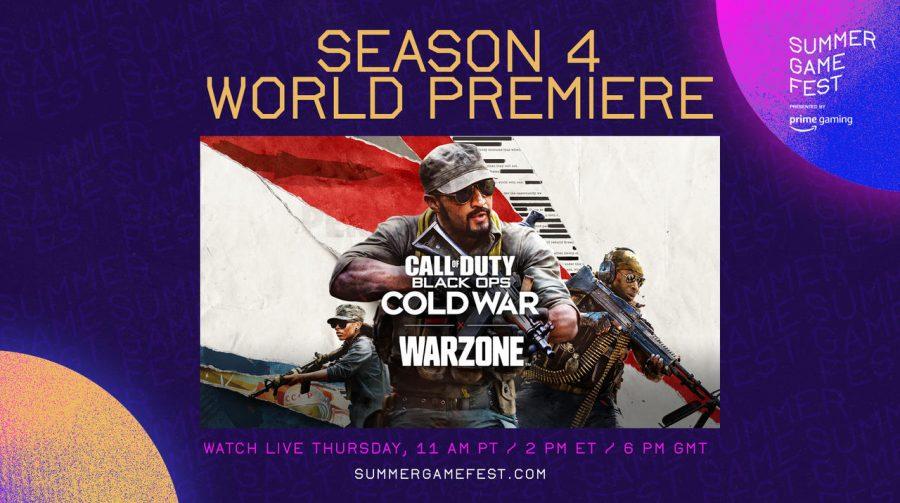 Anota aí: 4ª temporada de Warzone e Cold War será revelada nessa quinta (10)