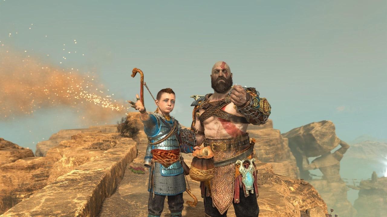 A história de Kratos - As cinzas da mãe