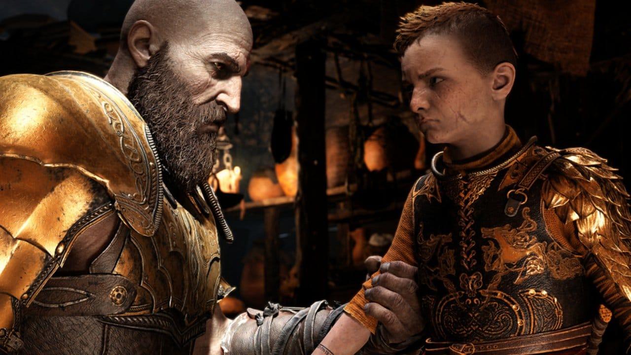 A história de Kratos - Atreus