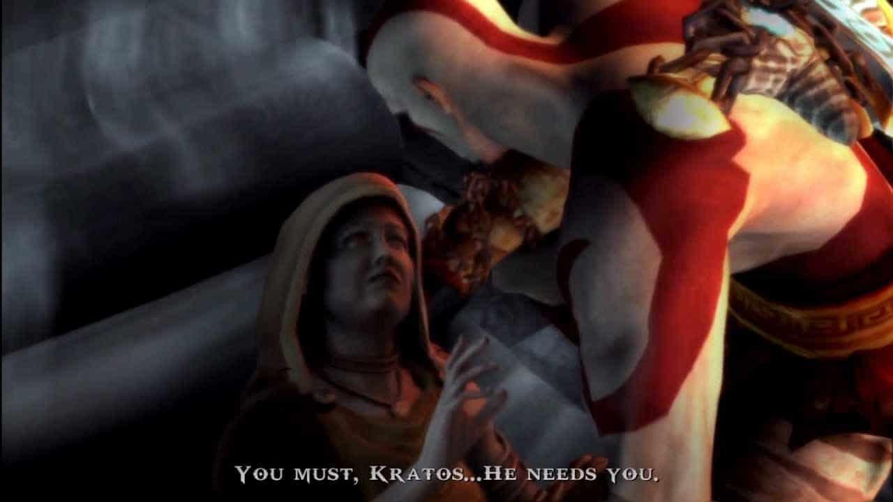 A mãe de Kratos - A história de Kratos