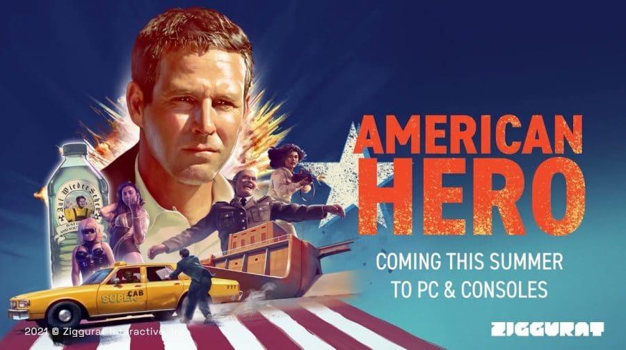 American Hero, game inacabado do Atari Jaguar, será lançado em breve