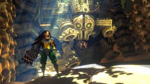 Trailer estendido de Aztech: Forgotten Gods exibe gameplay e chefões