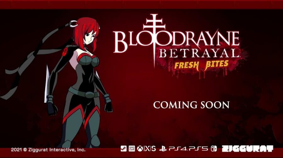 BloodRayne Betrayal, hack and slash 2D, será remasterizado para PS4 e PS5