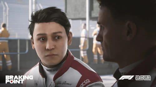 EA divulga screenshots e detalhes do modo Braking Point de F1 2021