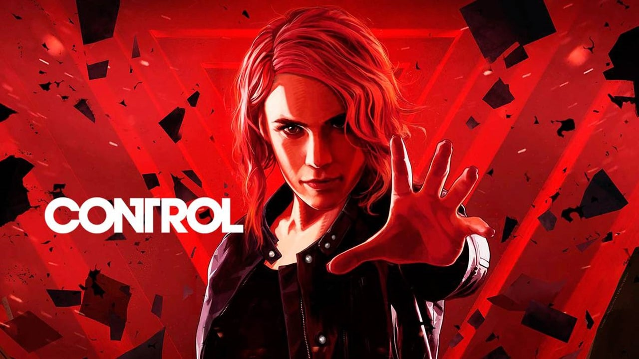 Capa com a protagonista de Control.