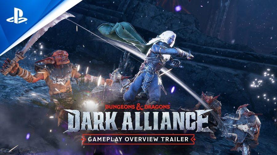 Trailer de Dungeons & Dragons: Dark Alliance traz detalhes de gameplay