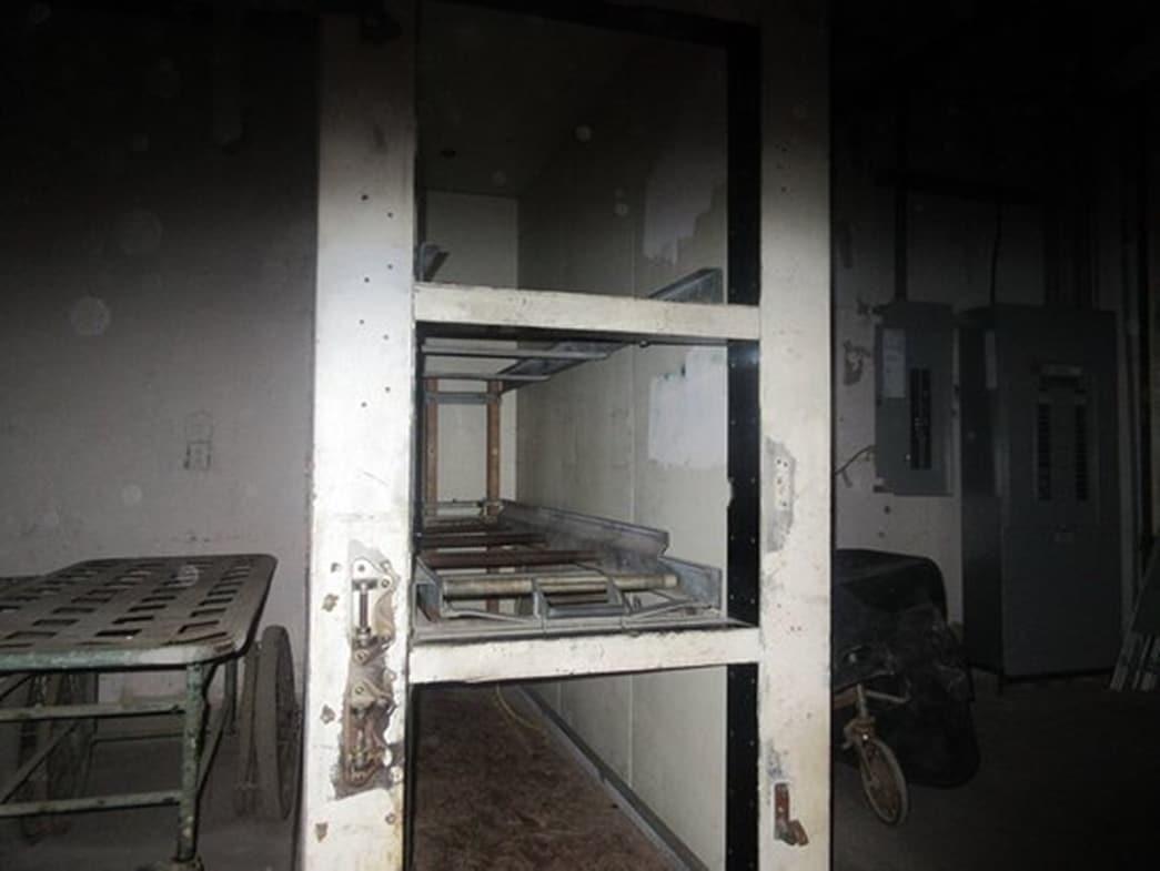 Um dos quartos de Waverly Hills Sanatorium.