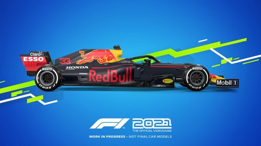 F1 2021 no PlayStation 5 rodará em 4K a 60FPS ou em 1440p a 120 FPS