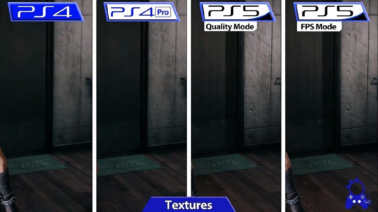 Final Fantasy VII Remake Intergrade - A tal da porta e suas novas texturas