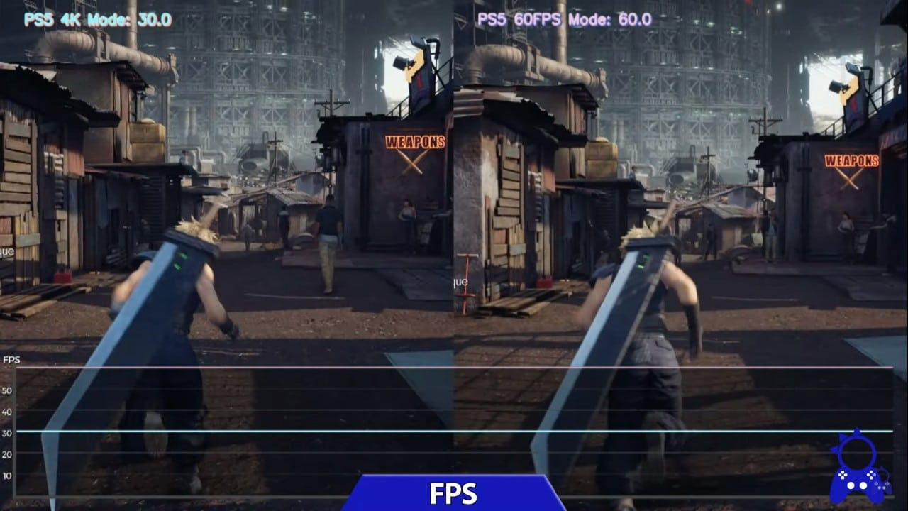 Final Fantasy VII Remake Intergrade - FPS PS5