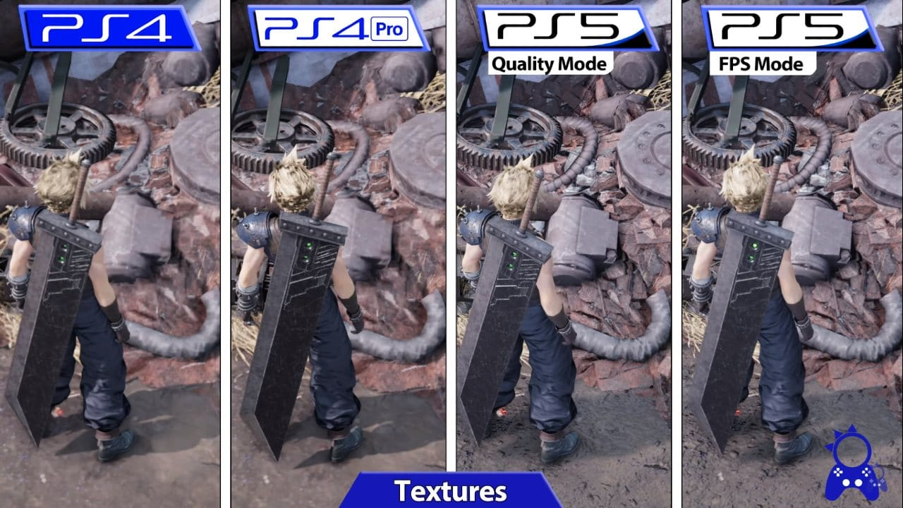 Final Fantasy VII Remake Intergrade - Texturas