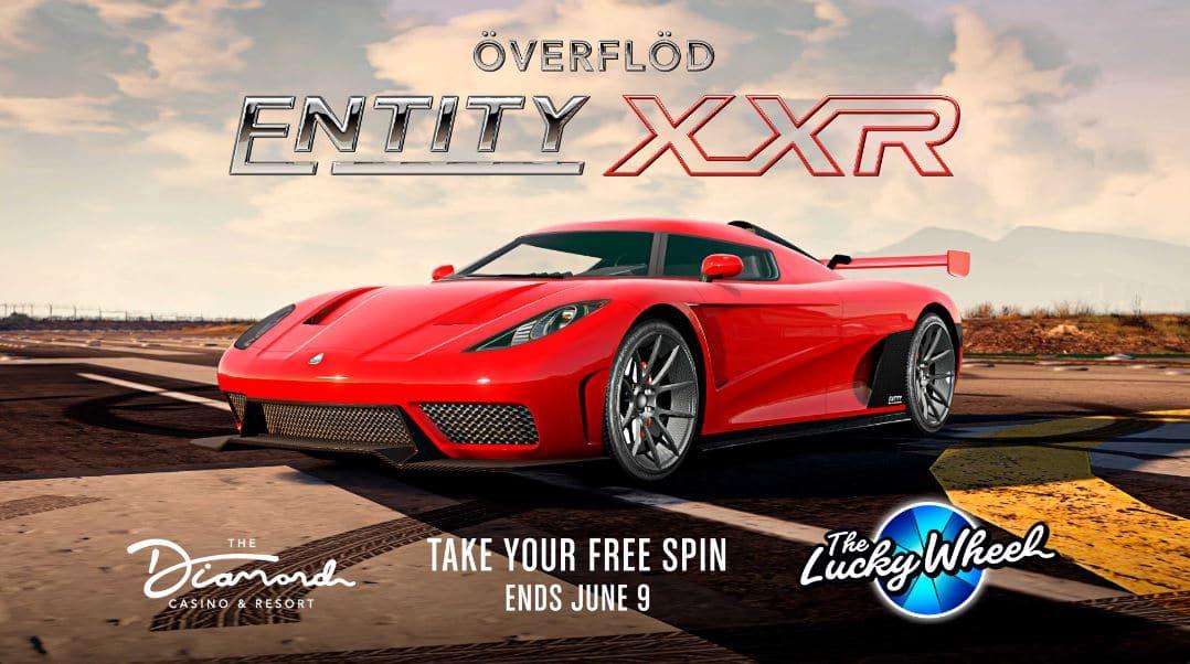 Överflöd Entity XXR, carro de GTA Online
