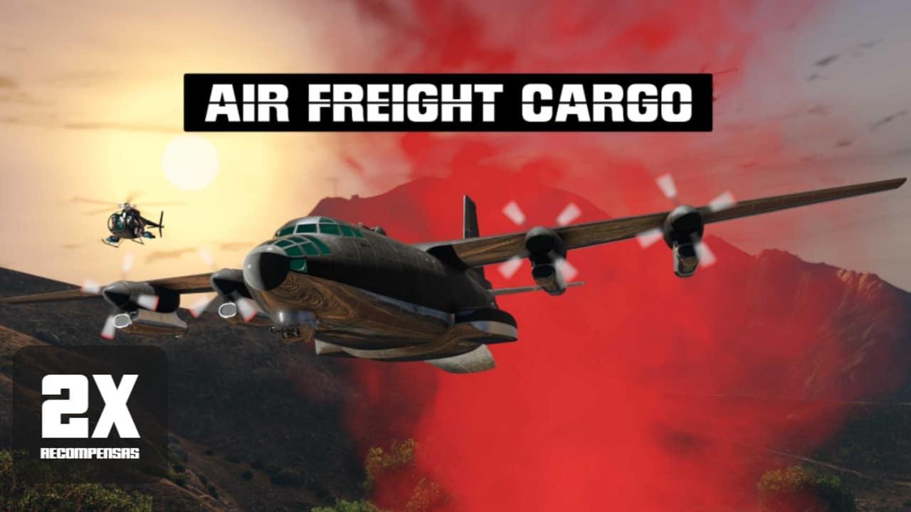 GTA Online - Missão Cargo de Frete