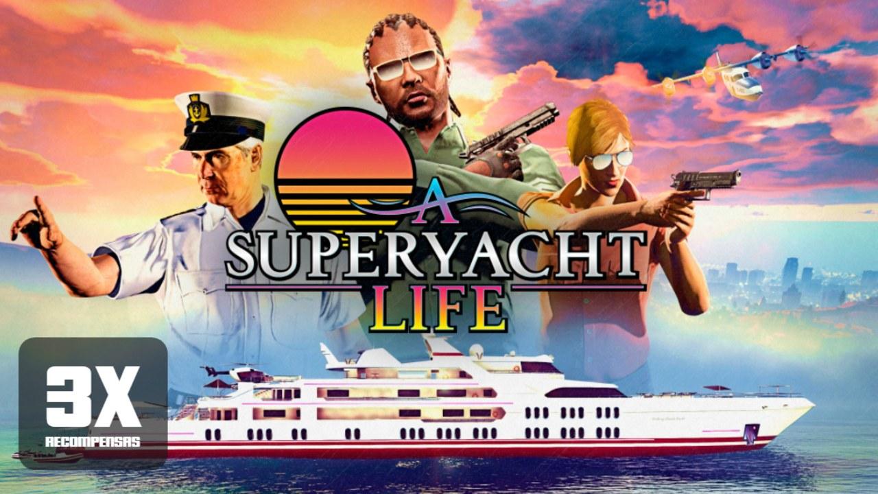 GTA Online - Vida de Iate