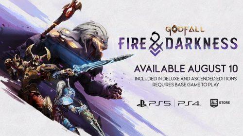 GodFall chegará ao PS4 e receberá novo DLC