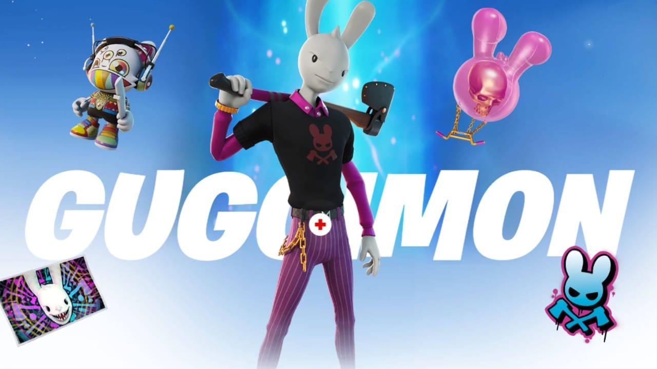 Guggimon - Passe de Batalha do Fortnite