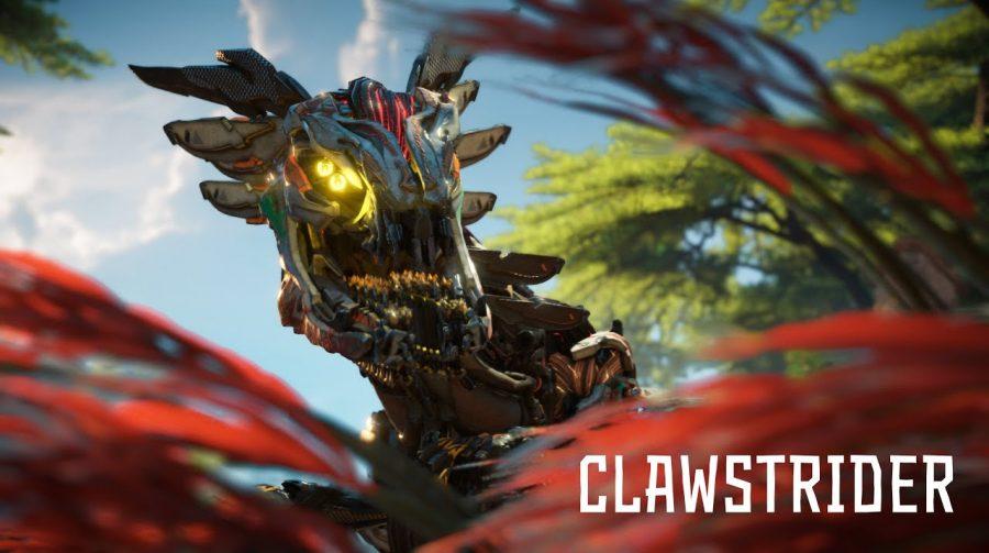 Horizon Forbidden West: teaser destaca a máquina Clawstrider