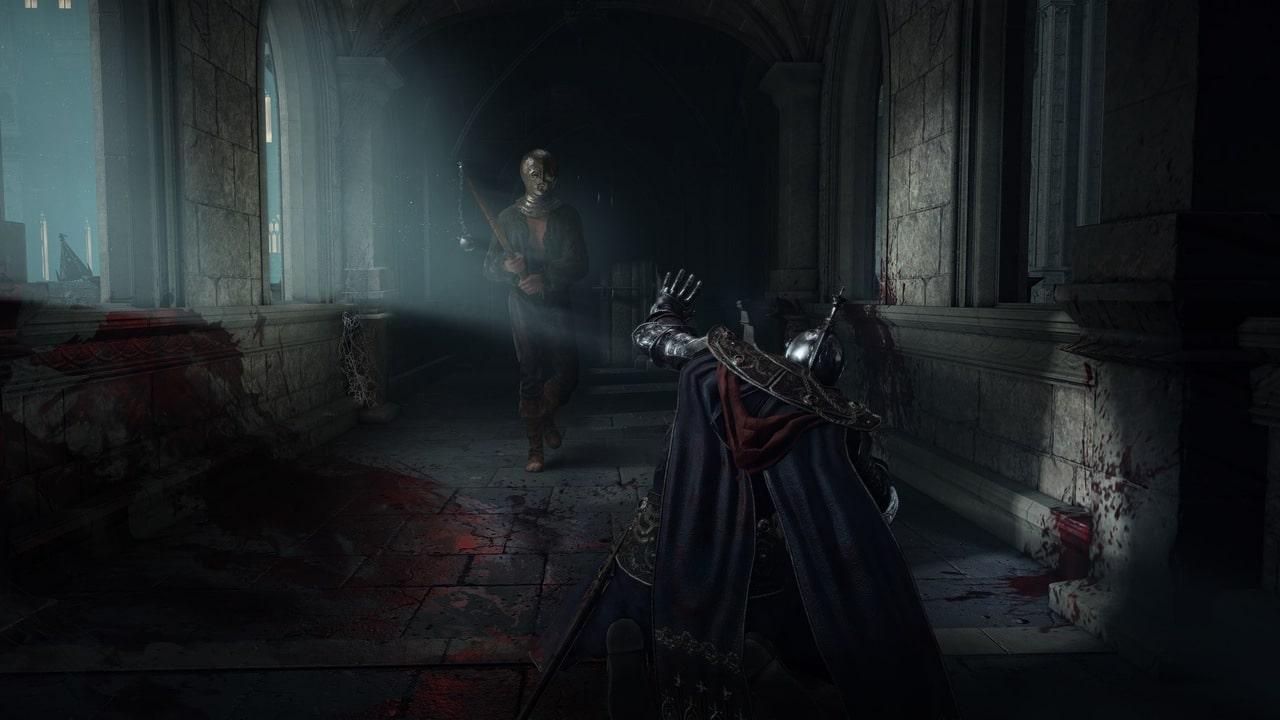 Imagem de um inimigo de Elden Ring se aproximando do protagonista