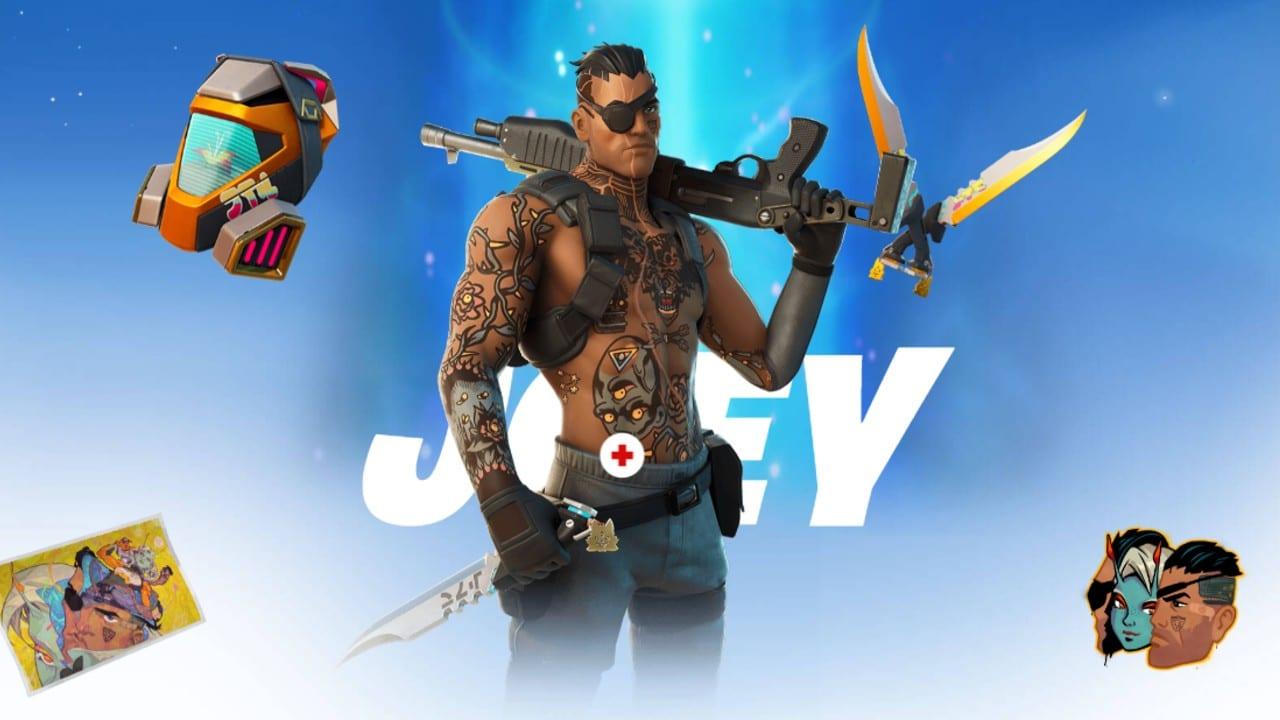 Joey - Passe de Batalha do Fortnite