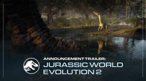 Jurassic World Evolution 2 é anunciado para 2021 no PS4 e PS5