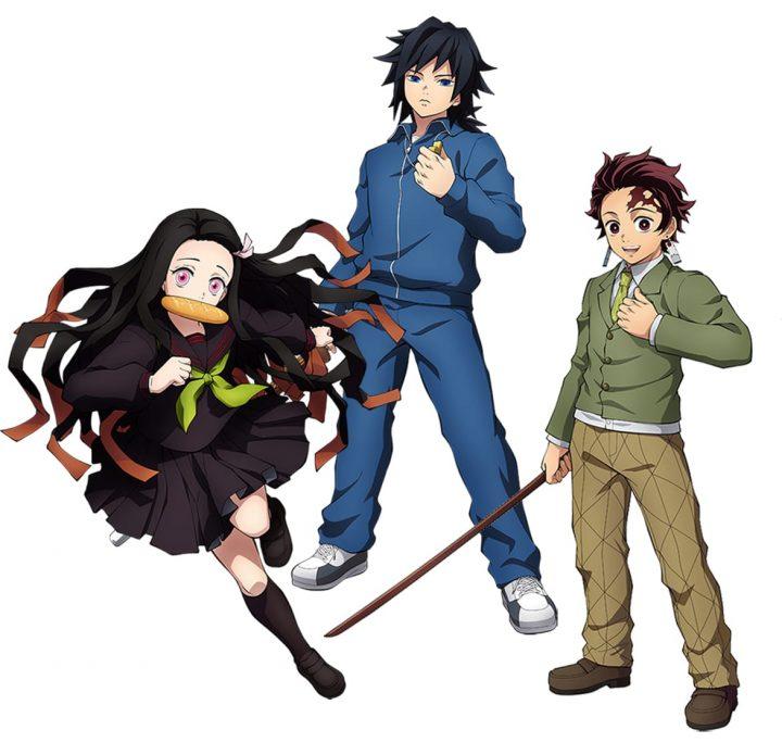 Jogo de Demon Slayer - Personagens Kimetsu Gakuen