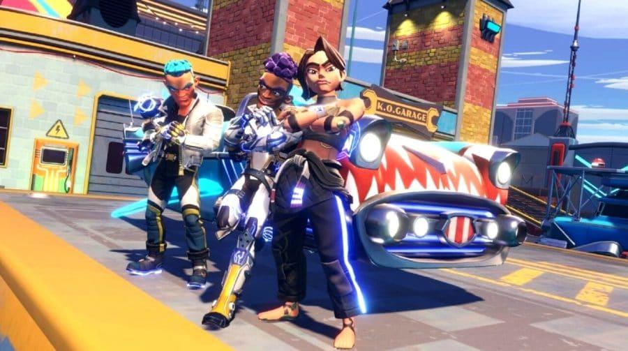 Update 1.2 de Knockout City traz novo modo de jogo 3v3