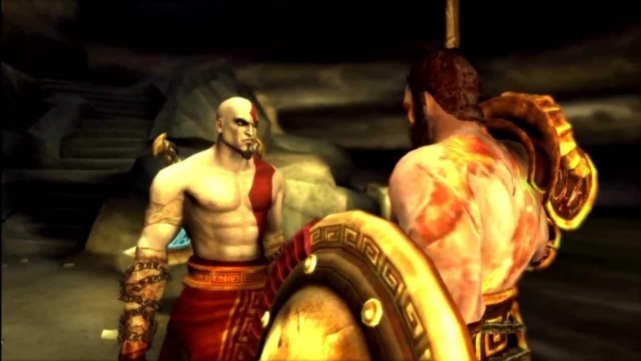 Kratos e Deimos - A história de God of War