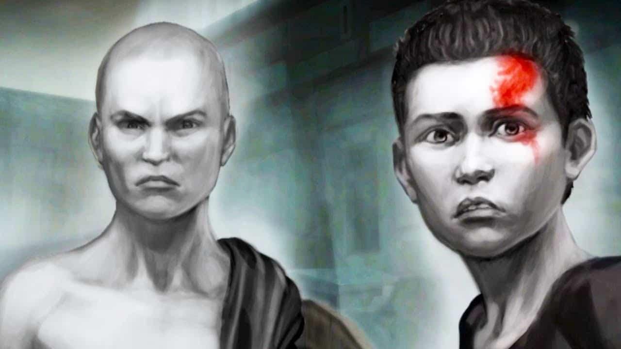 Kratos e Deimos - A história de Kratos