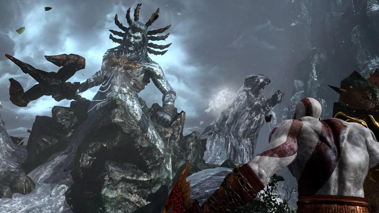Kratos vs Poseidon - A história de Kratos