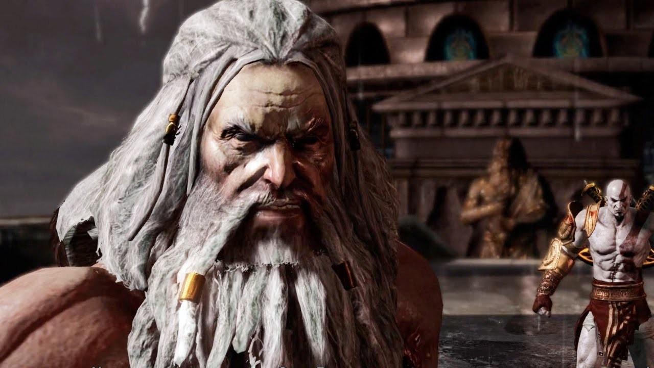 Kratos vs Zeus - A história de Kratos