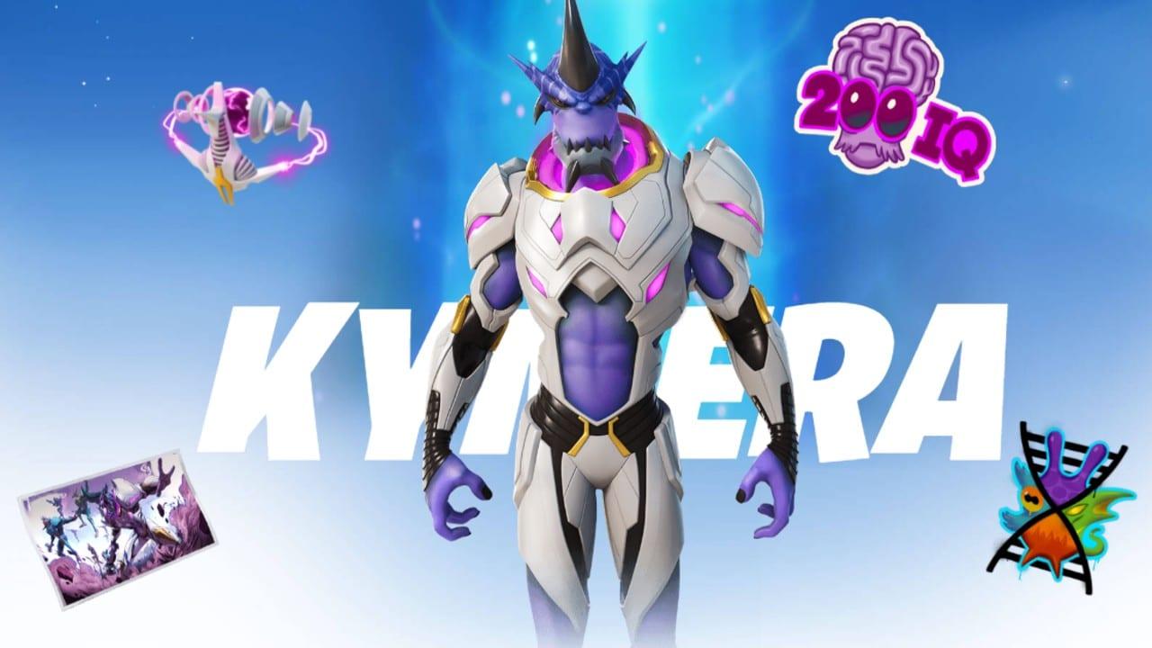 Kymera - Passe de Batalha do Fortnite