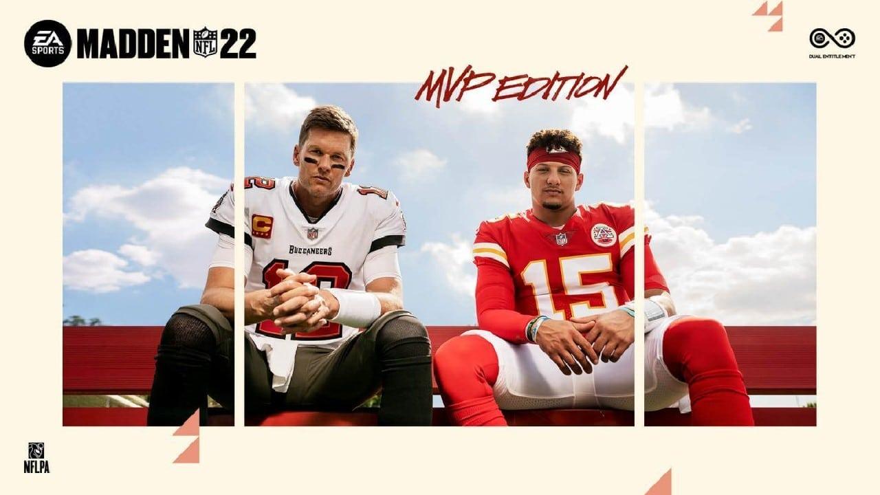 Madden NFL 22 - Brady e Mahomes na capa do jogo da EA, game estará na EA Play Live