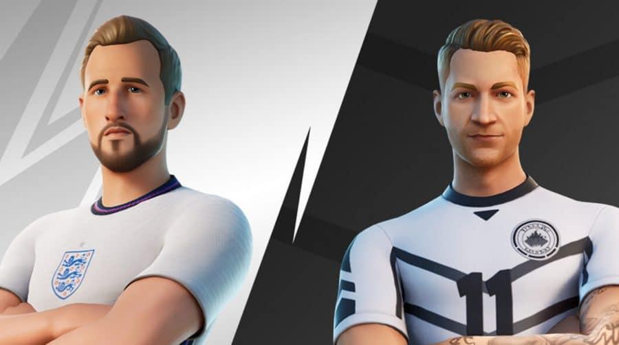 Marco Reus e Harry Kane chegarão ao Fortnite nesta sexta-feira (11)