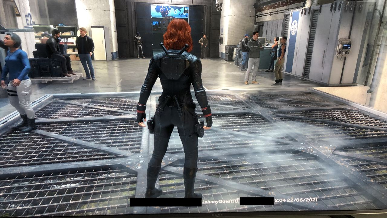 Marvel's Avengers - IP e ID exibidos
