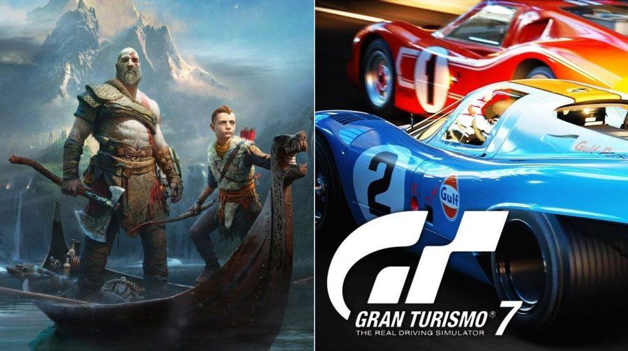 Novo God of War já era planejado para o PS4, mas Gran Turismo 7 não, diz jornalista