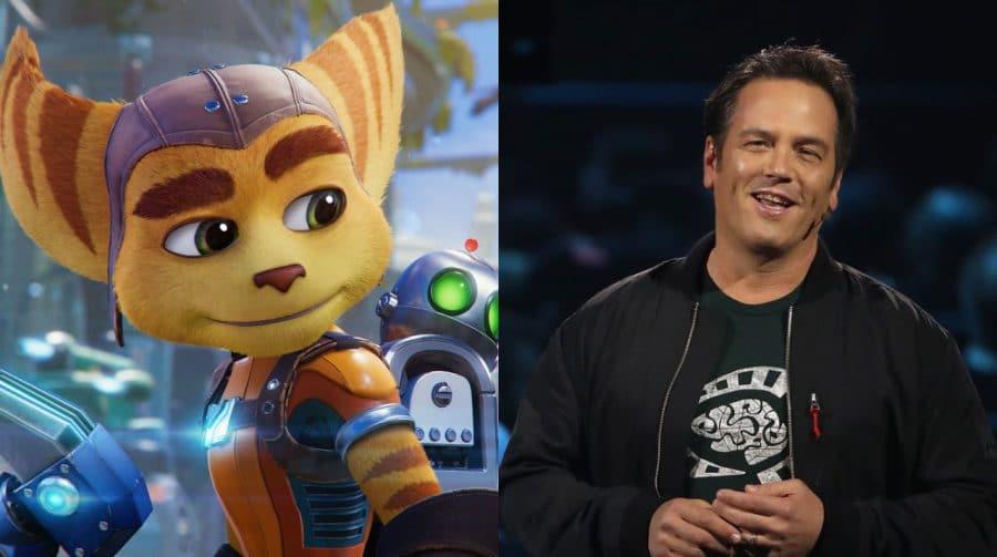 Chefe da Xbox parabeniza a Insomniac pela recepção do novo Ratchet & Clank
