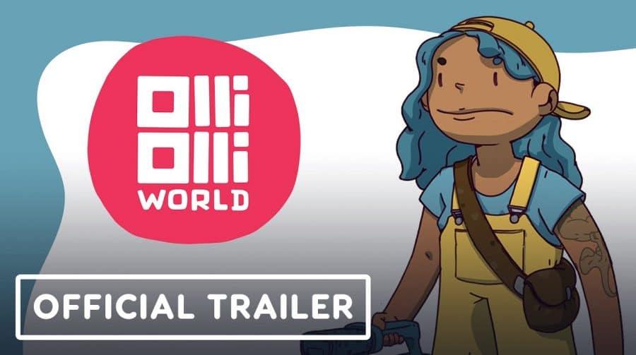 Gameplay de OlliOlli World mostra belo visual e manobras incríveis