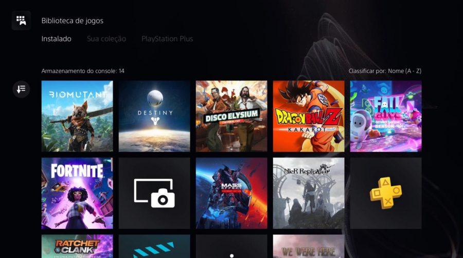 Biblioteca de jogos do PS5 sofre pequena mudança