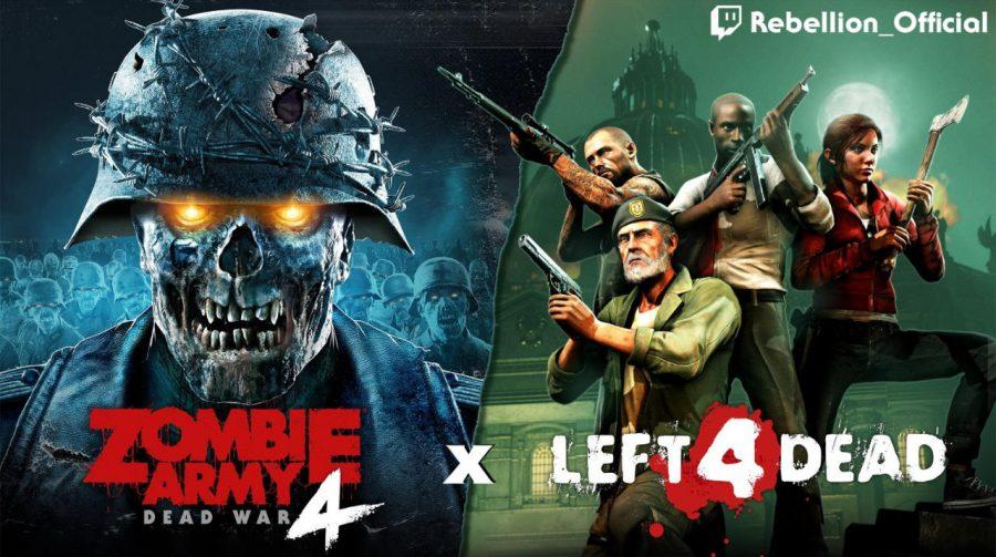Zombie Army 4 recebe pacote grátis com personagens de Left 4 Dead