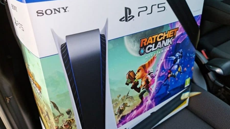 Bundle do PS5 com novo Ratchet & Clank está sendo vendido na França
