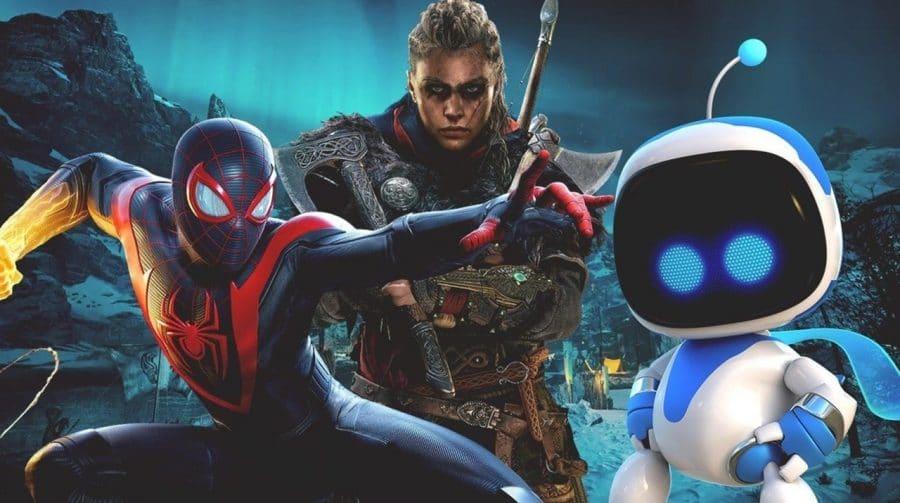 Lista mostra os 100 títulos mais jogados no PlayStation 5 em maio
