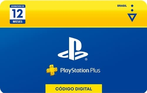PlayStation Plus 12 meses Gift Card