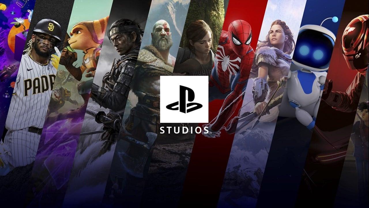 Varios jogos do PlayStation Studios.