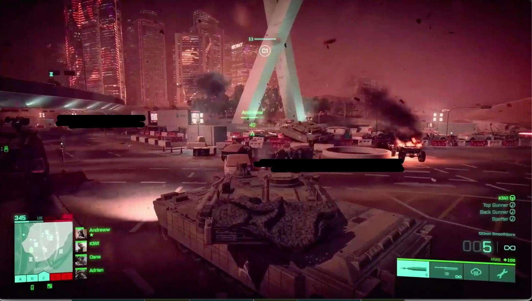 Possível imagem de Battlefield 6 com um tanque de guerra em destaque