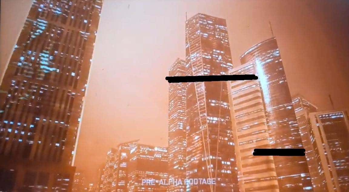 Possível imagem de Battlefield 6 com arranha-céus em destaque