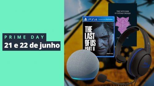 Prime Day 2021: Amazon lança promoções incríveis em jogos e acessórios!