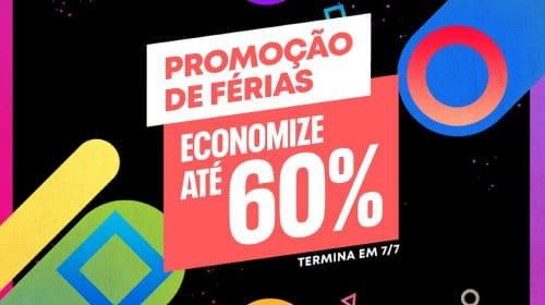 Promoção de Férias oferece jogos com até 60% de descontos