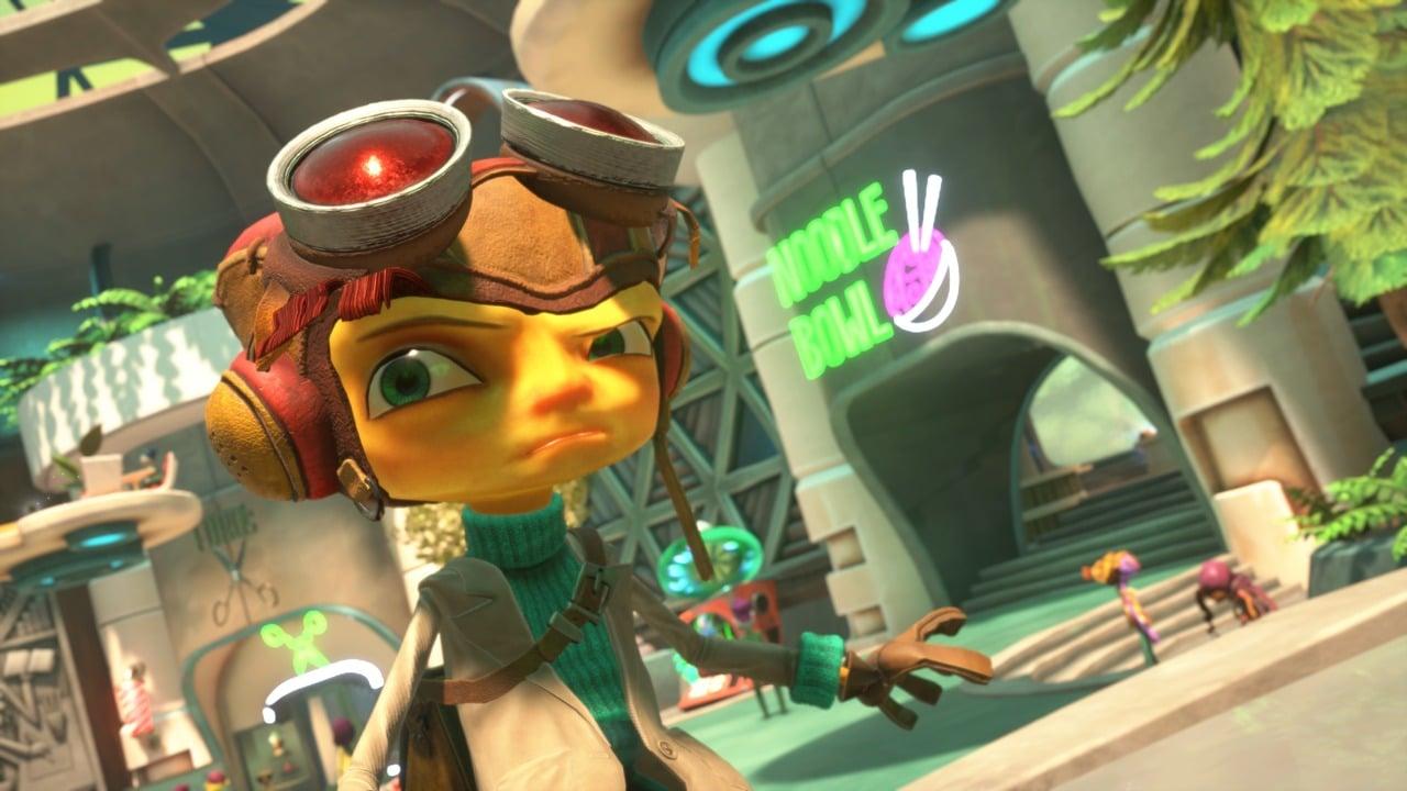 Imagem do jogo Psychonauts 2