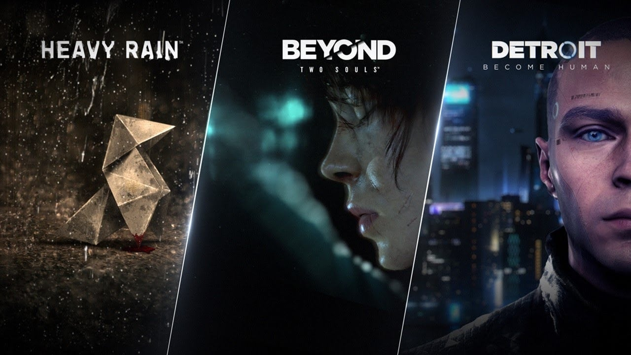 Jogos da Quantic Dream.