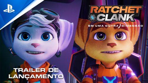 É hora dos heróis! Confira o trailer de lançamento de Ratchet & Clank: Em Uma Outra Dimensão